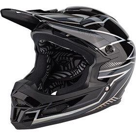 O'Neal Fury Helm Rapid, black